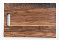 "Walnut Cutting Board With Handle (11"" x 16"")"