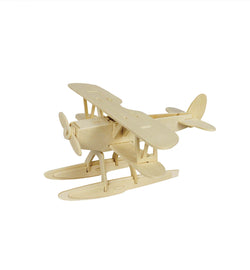 Hands Craft JP209 DIY 3D Wooden Puzzle: Hydroplane