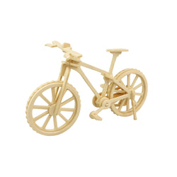 Hands Craft JP271 DIY 3D Wooden Puzzle: Bicycle