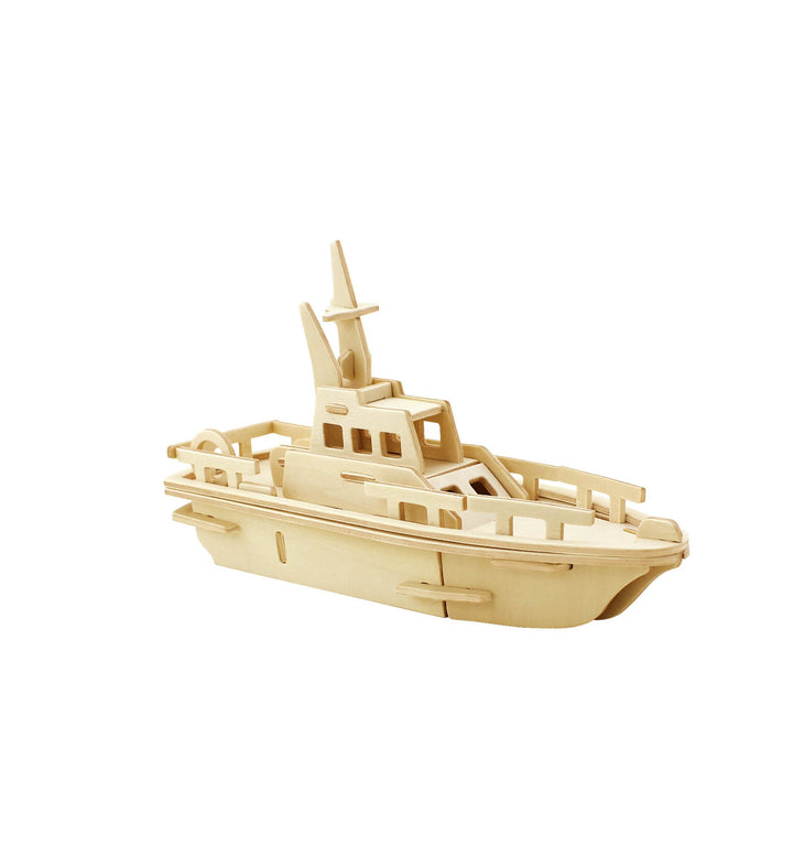Hands Craft JP294 DIY 3D Wooden Puzzle: Yacht