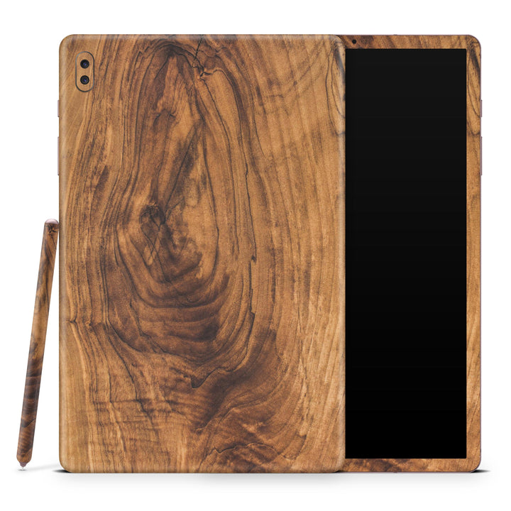 Raw Wood Planks V11 - Full Body Skin Decal Wrap Kit for Samsung Galaxy