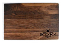 "Personalized Flat Walnut Cutting Board (11"" x 16"")"