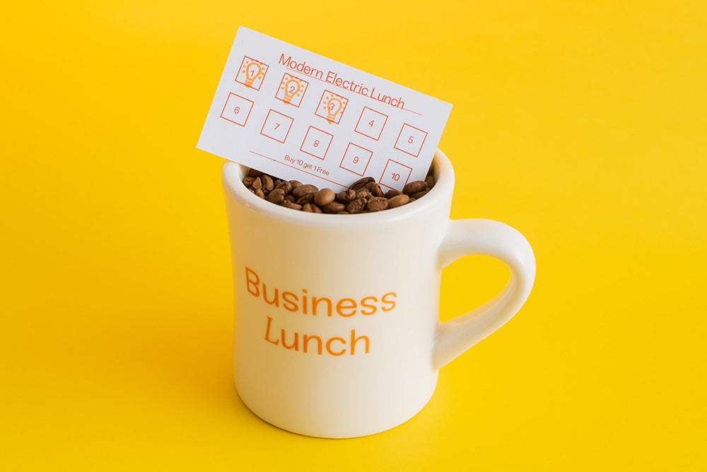 Business Lunch 12oz Coffee Mug