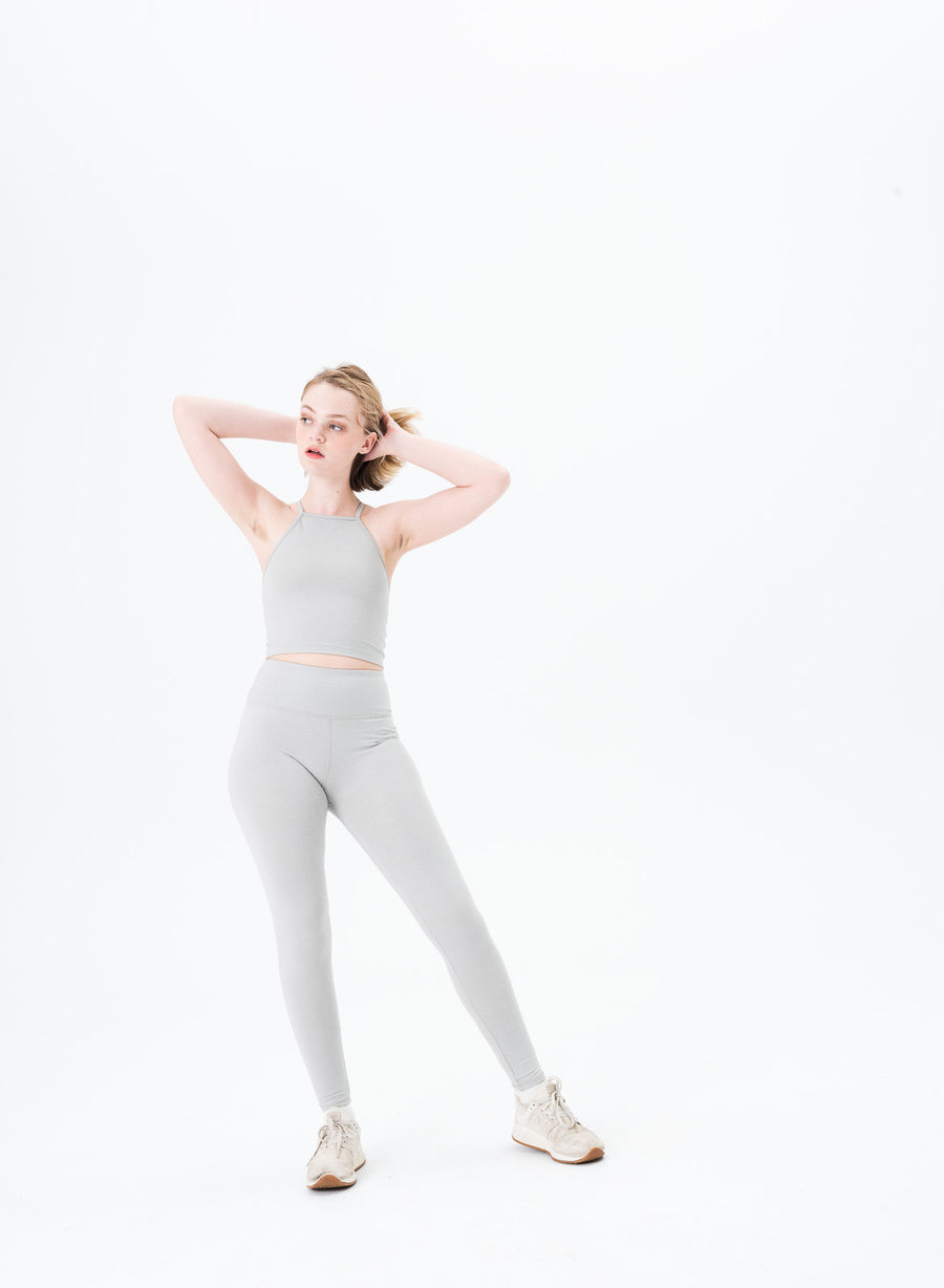 Flora Foil High Waisted Legging