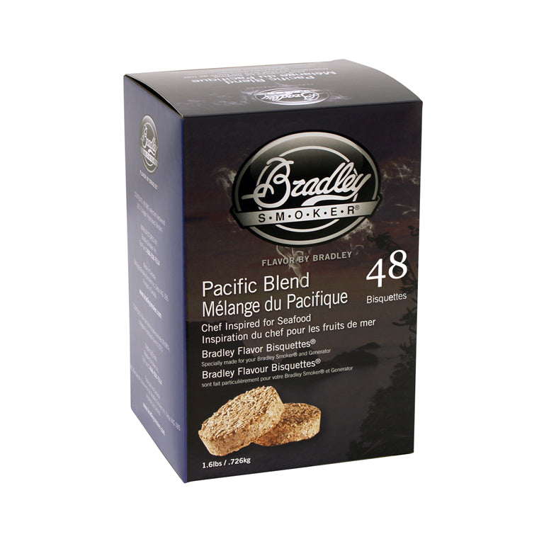 Pacific Blend Bisquettes for Bradley Smokers