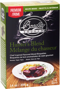 Hunters Blend Bisquettes for Bradley Smoker