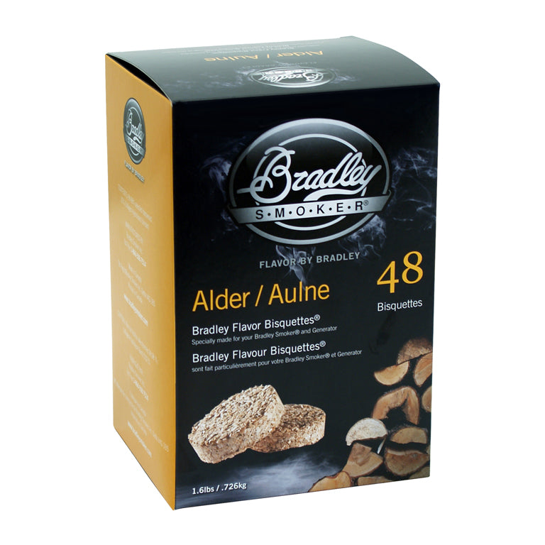 Alder Bisquettes for Bradley Smokers