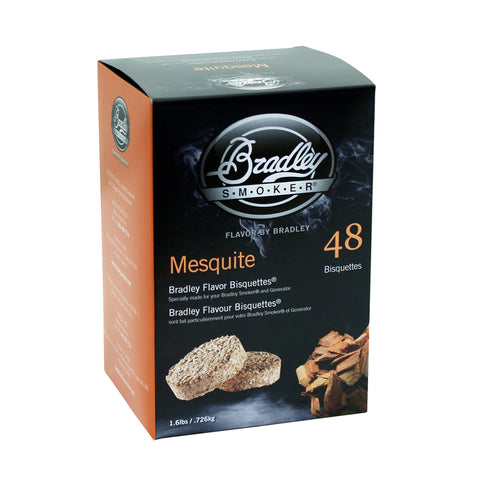 Mesquitte Bisquettes for Bradley Smokers