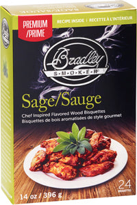 Sage Bisquettes for Bradley Smokers