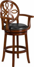 Ella Swivel Bar stool with Arms