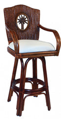 Bimini Rattan Bar stool