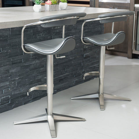 Reed Adjustable Barstool