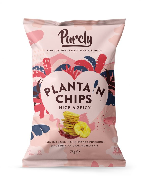 Plantain Chips Nice & Spicy
