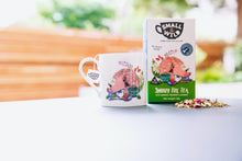 Load image into Gallery viewer, Snoozy Fox Herbal Tea for Kids with Camomile, Spearmint & Lavender