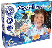 Load image into Gallery viewer, Crystal Factory - Glow In Th eDark - Educational Science kit, by Science 4 You