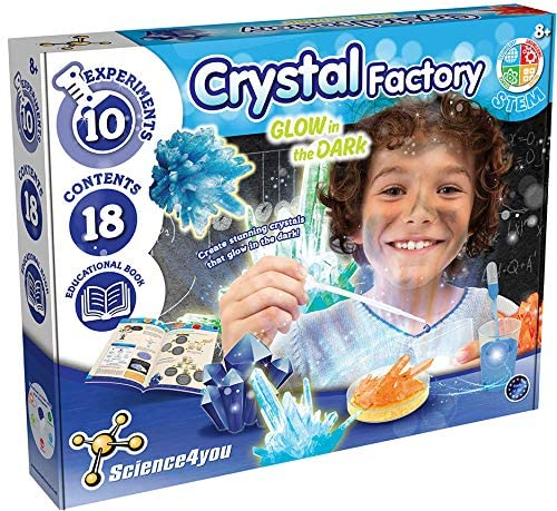 Crystal Factory - Glow In Th eDark - Educational Science kit, by Science 4 You