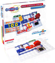 Load image into Gallery viewer, Snap Circuits Jr.® - Enjoy 100 Amazing Projects | SC-100 by Elenco | Age 8+