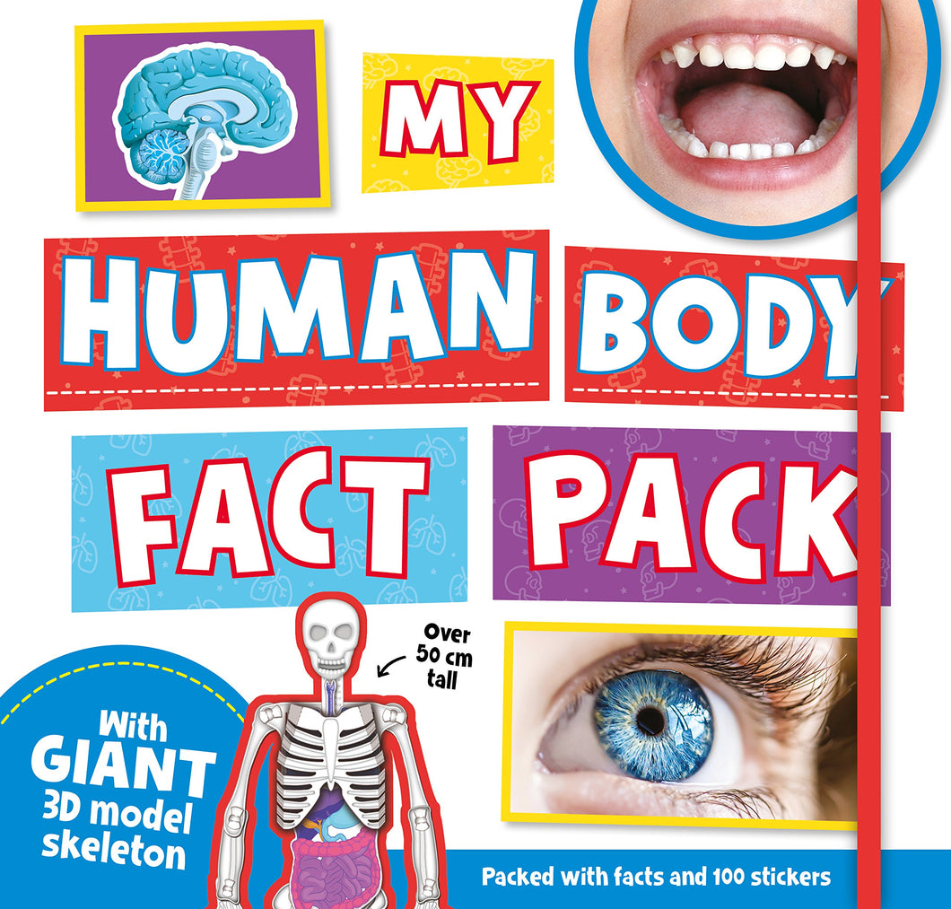 My Human Body Fact Pack by IglooBooks | Age 6+