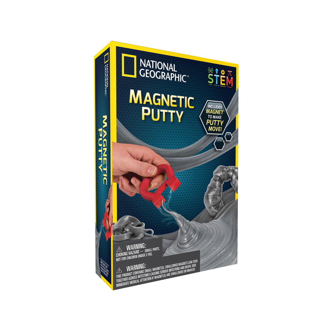 Magnetic Putty | NGMAGPUTTY by National Geographic | Age 8+