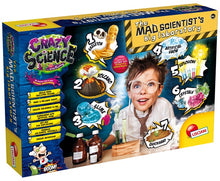 Load image into Gallery viewer, THE MAD SCIENTIST'S BIG LABORATORY - Educational Science kit, by Lisciani Crazy Science