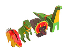 Load image into Gallery viewer, Dinosaurs - Paper Art Kit, by Pukaca | Age 6+
