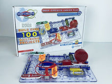 Load and play video in Gallery viewer, Snap Circuits Jr.® - Enjoy 100 Amazing Projects | SC-100 by Elenco | Age 8+