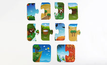 Load image into Gallery viewer, Quranic Opposites puzzle by LearningRoots | Age 2-6