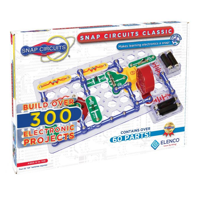 Snap Circuits® 300-in-1 - Enjoy 300 Amazing Projects | SC-300 by Elenco | Age 8+