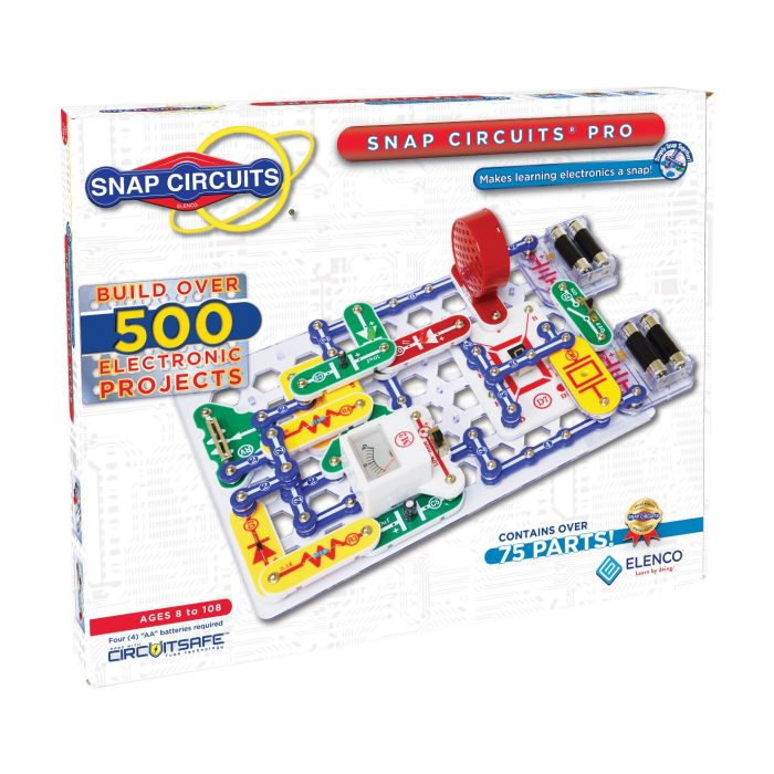 Snap Circuits® Pro 500-in-1 | Enjoy 500 Amazing Projects | SC-500 by Elenco | Age 8+