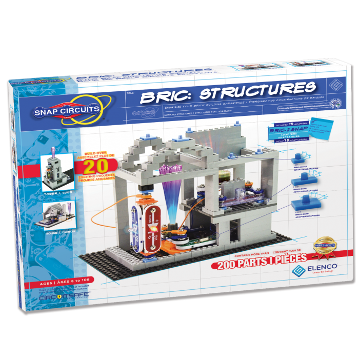 Snap Circuits® Brick Structures | SC-BRIC1 by Elenco | Age 8+