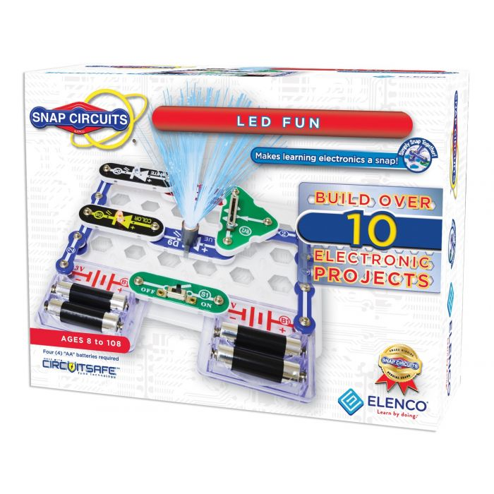 Snap Circuits® LED Fun | SCP-11 by Elenco | Age 8+