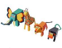 Load image into Gallery viewer, Jungle Animals - Paper Art Kit, by Pukaca | Age 6+