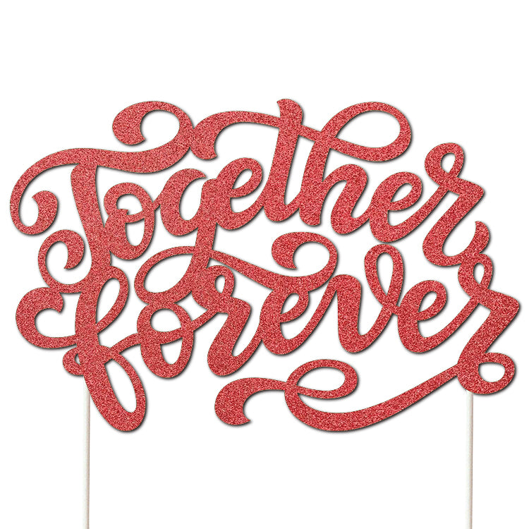 Together Forever Cut Template