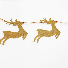 Reindeer Garland Cut Template