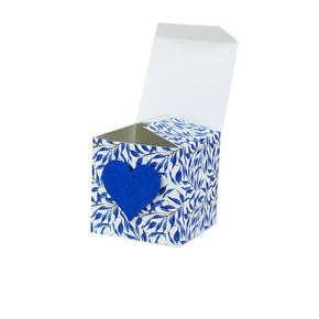 Boxes with Hearts Cut Template