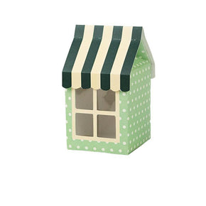 Cute House Treat Box Print & Cut Template