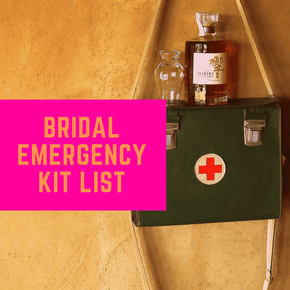 Complete Checklist for Bridal Emergency Kit - The Knowery