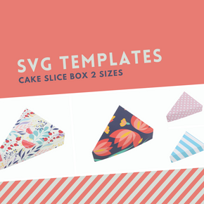 SVG Cake Box Template