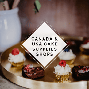 Cake Supplies List - US and Canada - The Knowery