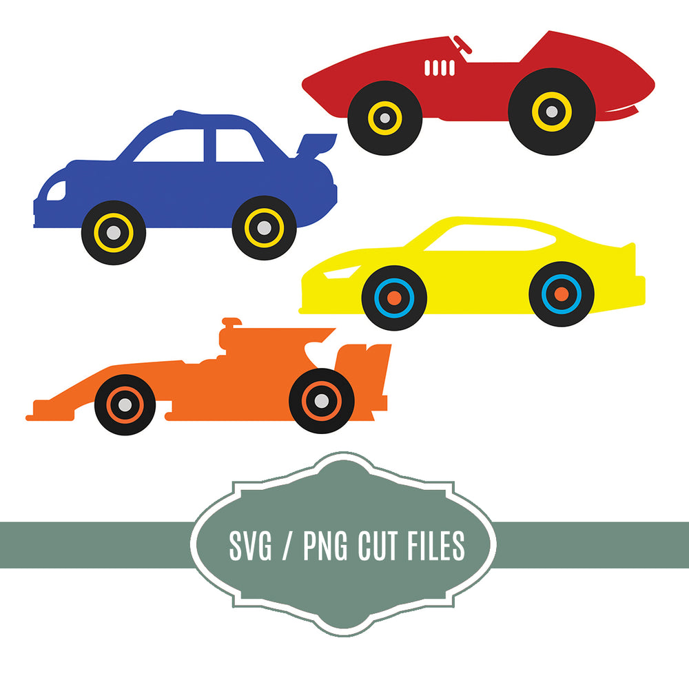 Toy Cars Cut Files