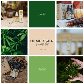 CBD and Hemp Based Products on Amazon - The Knowery
