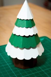 Christmas Tree Centerpiece Templates