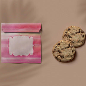 Pink Cookie Bag Print and Cut Template