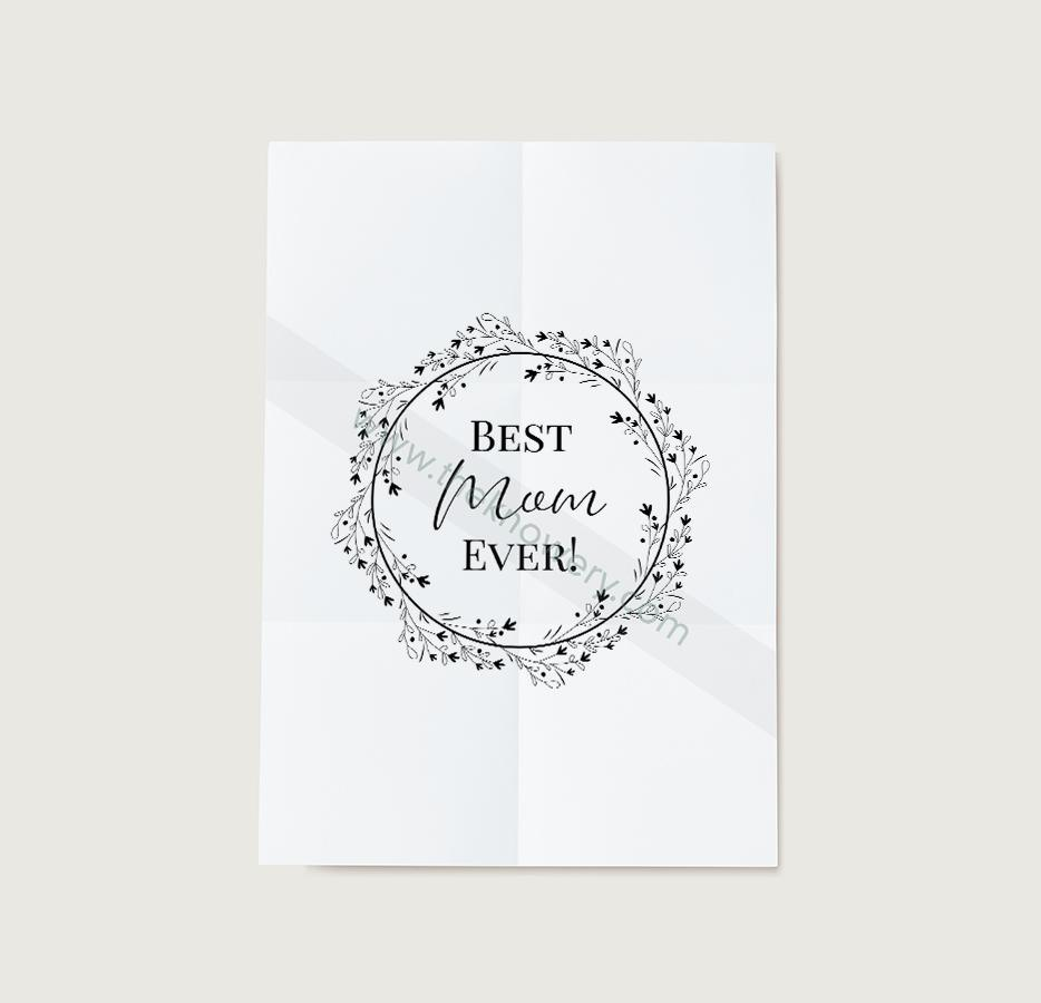 Mother's Day Print and Cut Template