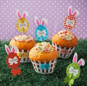 Easter Cupcake Wraps Template