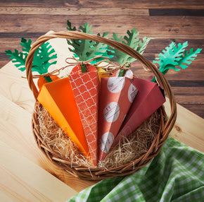 Carrot Treat Box Template