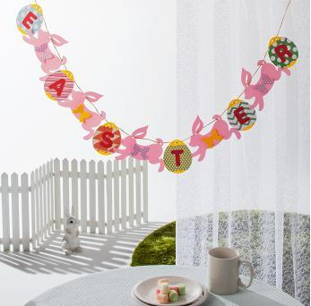 Easter Garland Template