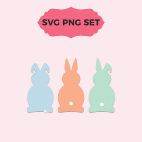 Easter Bunnies Cut Templates
