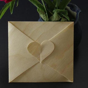 Envelope With Heart Accent Template