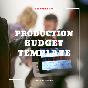 Feature Film - Production Budget Template
